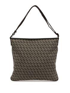 Fendi Pre-Owned сумка на плечо с узором Zucchino