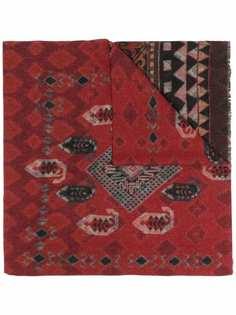 ETRO шерстяной шарф с узором