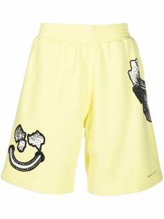 Givenchy шорты-бермуды с графичным принтом