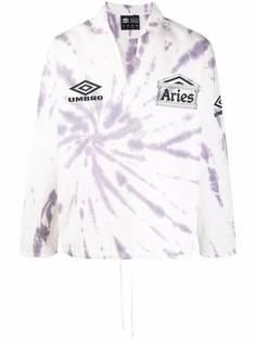 Aries пуловер с принтом тай-дай из коллаборации с Umbro