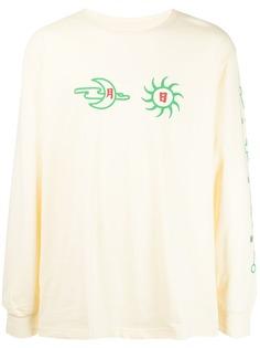 CLOT футболка Mon & Sun с длинными рукавами