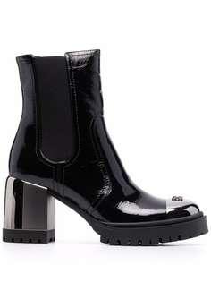 Casadei лакированные ботинки New Cult