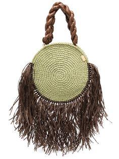 0711 пляжная сумка Tulum с кисточками