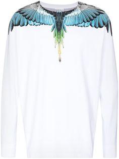 Marcelo Burlon County of Milan футболка с длинными рукавами и принтом Wings