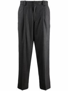 Acne Studios строгие брюки в тонкую полоску