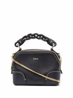 Chloé маленькая сумка-тоут Daria с цепочкой