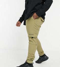 Суженные книзу брюки карго светло-бежевого цвета ASOS Unrvlld Spply Plus-Бежевый
