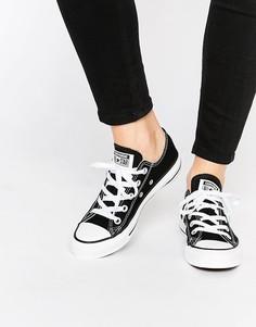 Черные кроссовки Converse Chuck Taylor All Star Core Ox-Черный