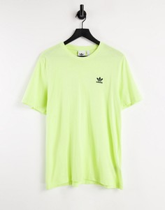 Желтая футболка adidas Originals essentials-Желтый