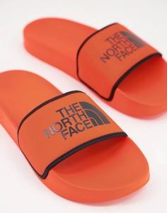 Оранжевые шлепанцы The North Face Base Camp-Оранжевый цвет