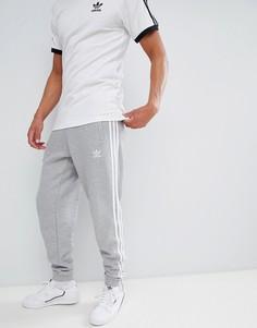 Серые джоггеры с 3 полосками adidas Originals adicolor CY4569-Серый