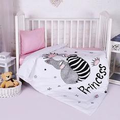 Комплект постельного белья Традиция ясельный BabyRelax Принцесса 1735955