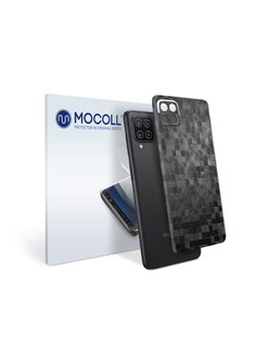 Пленка защитная MOCOLL для задней панели Samsung Galaxy A42 5G Тень графит