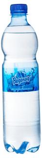 Вода питьевая Водопад очищенная газированная 0,6 л