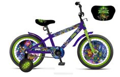 Велосипед 1 TOY ВН16163 Черепашки-ниндзя 16 1toy