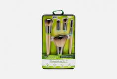 Набор кистей для макияжа (5 сменных насадок и 2 ручки) Ecotools