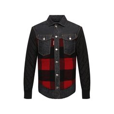 Комбинированная куртка Dsquared2