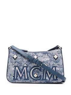 MCM жаккардовая сумка на плечо Visetos