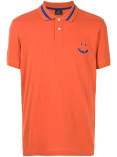 PS Paul Smith рубашка поло с нашивкой-логотипом