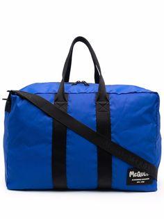 Alexander McQueen дорожная сумка с нашивкой-логотипом