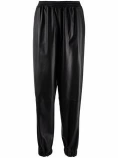 Desa 1972 зауженные кожаные брюки
