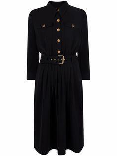 Boutique Moschino платье-рубашка Cady с длинными рукавами
