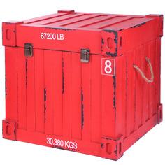Сундук-контейнер Fuzhou fashion home бордовый 44,5х44,5х44,5 см