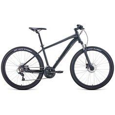 """Горный (MTB) велосипед FORWARD Apache 27.5 3.0 Disc (2021) черный 19"""" (требует финальной сборки)"""