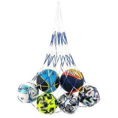 Сетка для переноски мячей (на 6 мячей), нить 6 мм, цвета микс Onlitop