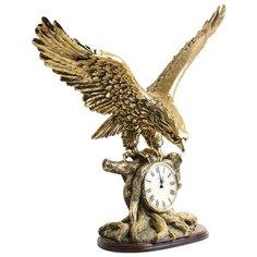 Часы настольные BOGACHO Орел Бронза