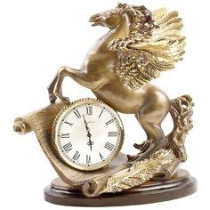 Часы настольные BOGACHO Пегас Бронза