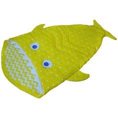 Конверт-мешок ДоММой спальный Рыбка 145 см желтый