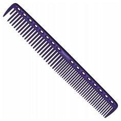 Расческа для стрижки многофункциональная Y.S.Park YS-337 deep purple