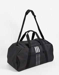 Черная сумка с логотипом adidas Training Tiro-Черный цвет
