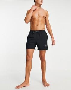 Черные пляжные шорты длиной 5 дюймов Nike Swimming City Series-Черный цвет