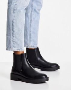 Черные ботинки челси ASOS DESIGN Alford-Черный цвет