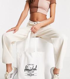 Эксклюзивная сумка-тоут белого цвета с логотипом Herschel Supply Co-Белый