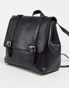 Черный рюкзак-портфель ASOS DESIGN-Черный цвет
