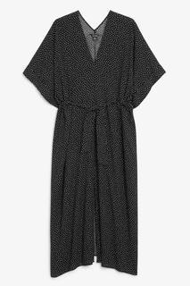 Длинное платье пляжного стиля без застежки Monki