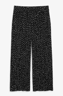Плиссированные брюки-капри Monki