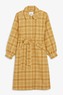 Пальто из смесовой шерсти Monki