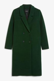 Классическое двубортное пальто Monki