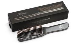 Расческа Majestic Graphite универсальная для всех типов волос