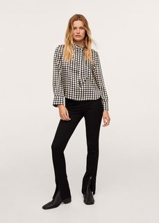 Блузка с геометрическим принтом - Quant Mango