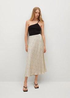 Сатиновая миди-юбка - Laura Mango