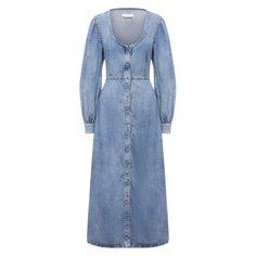Джинсовое платье Ganni