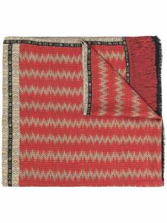 ETRO кашемировый шарф с принтом пейсли