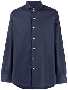 Canali рубашка с длинными рукавами