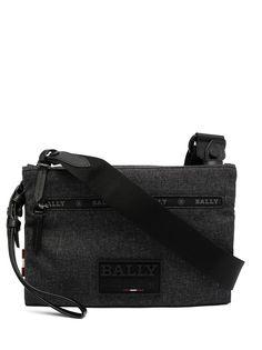 Bally сумка-мессенджер с нашивкой-логотипом