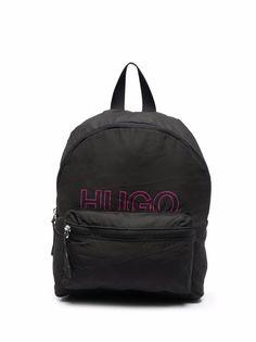 HUGO рюкзак на молнии с логотипом